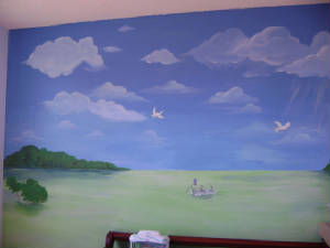 Paradise Beach  Children's Murals - South Florida