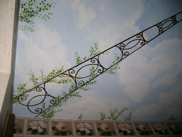 Trompe L Oeil Ceiling Murals Children S Murals In Palm