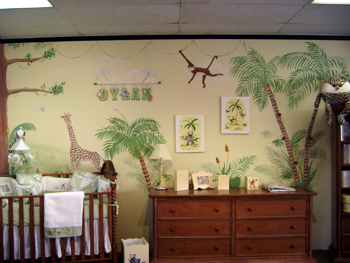 Children\'s Murals - Decorating Ideas for Baby - Toddler - Kids ...