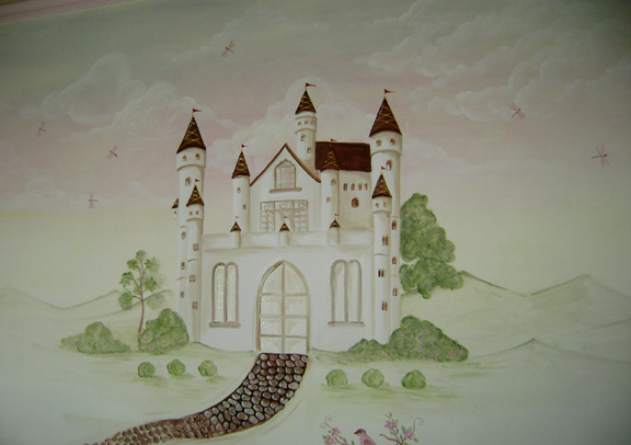 Castle Nursery Murals