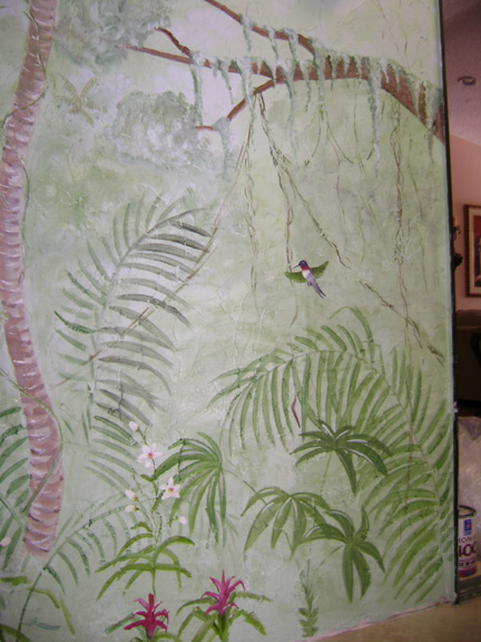 Mural -Jungle Mural- Palm Beach County,Florida