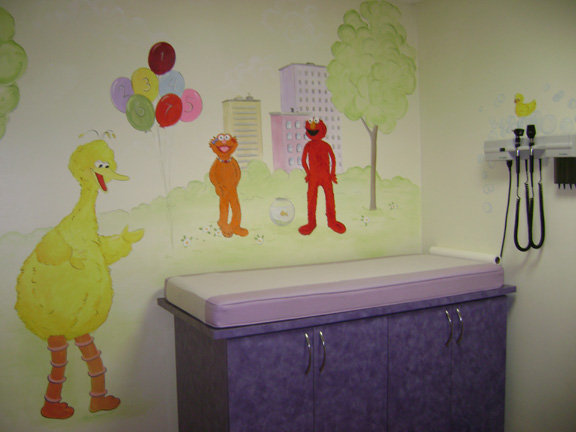 Sesame street mural wallpaper wall murals you 39 ll love for Collant mural