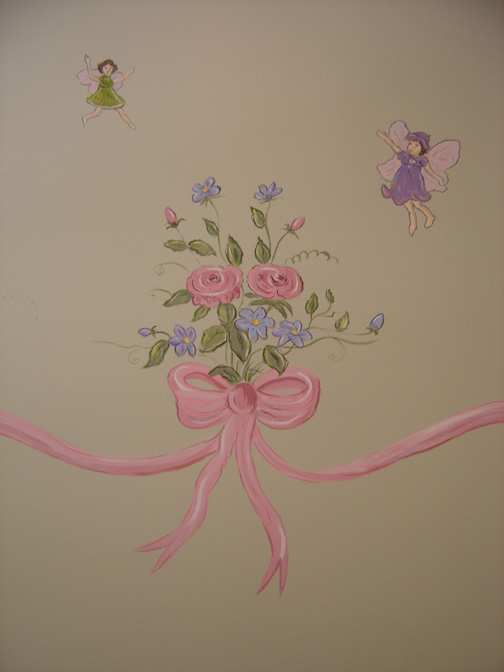 Ribbon Border Mural