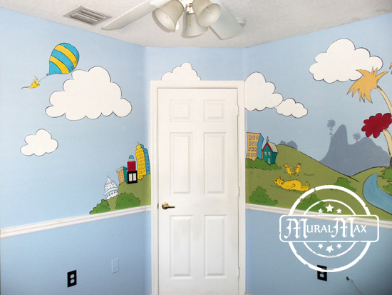 ... Dr Seuss Wall Murals Part 66