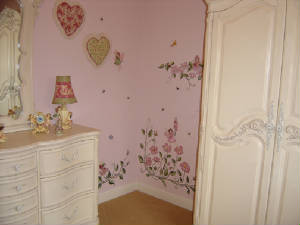 Nursery Mural - Baby Room Decorations