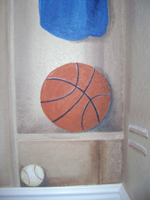 Florida Gators Sport Mural -Locker Mural