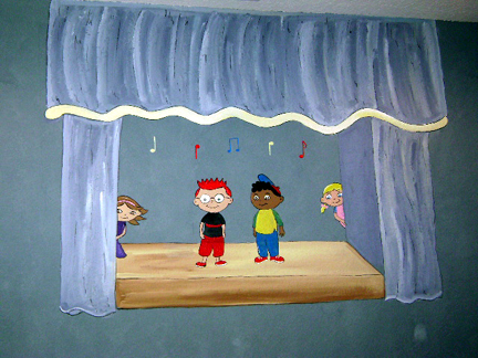 Little Einsteins Mural Mural Children S Wall Murals