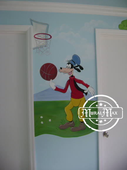 Mickey mouse mural 8