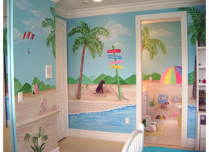 Murals - Decorating Ideas for Baby - Toddler - Kids bedrooms