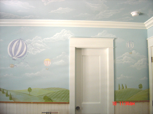 Clouds on pinterest murals cloud ceiling and cloud for Clouds wall mural