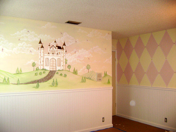 Children's Murals - Decorating Ideas for Baby - Toddler - Kids ...