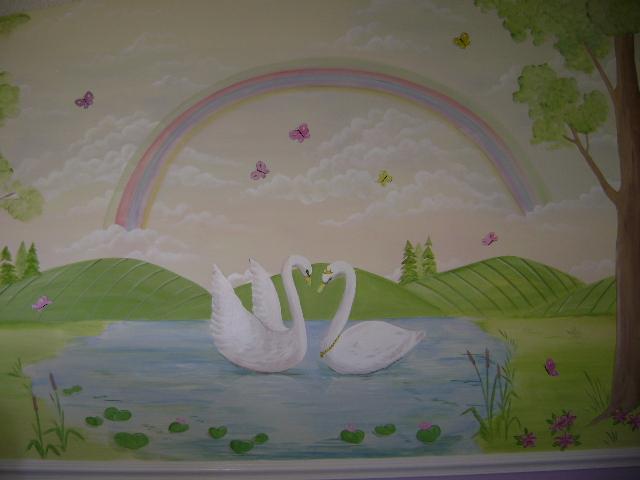 Swan Lake Children S Murals Children S Murals In Palm