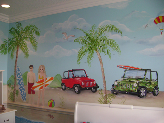 Children's Beach Mural- South Florida murals