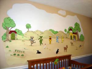 Nursery Farm Land Wall Murals Children S Wall Mural Murals