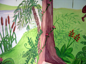 Jungle Mural - Playroom Mural