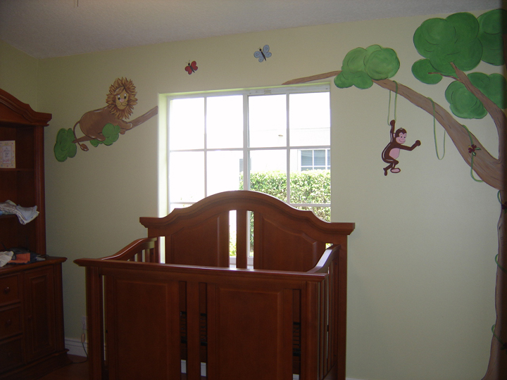 Jungle Animals Mural
